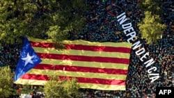 Марш за незалежність Каталонії у Барселоні