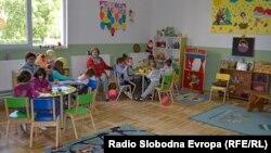Архивска фотографија: Детската градинка Јасна Ристеска од Охрид.