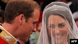 Новобрачные: принц Уильям и Кэтрин Миддлтон
