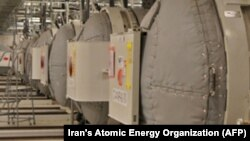 The interior of the Fordow Uranium Conversion Facility in Qom, Iran (file photo)