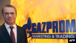 """""""Газпромдун"""" орунбасар төрагасы Александр Медведев 5-январда Парижде маалымат жыйынын өткөрдү."""