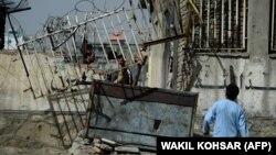 У места взрыва в Кабуле. Иллюстративное фото