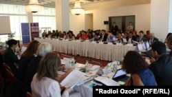 Tajikistan -- Conference on the Rights of Children in Detention, 16Sep2014