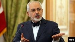 Иранскиот министер за надворешни работи Махамад Џавад Зариф/