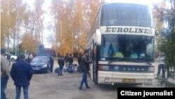 Moskvadan O'zbekistonga yo'l olgan avtobus, 12-oktabr, 2017-yil