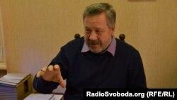 Директор Харківського зоопарку Олексій Григор'єв, Харків, 5 грудня 2011 року (фото Юрія Сулими)