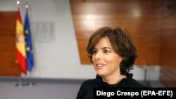 Вицепремиерката на Шпанија Сораја Саенс де Сантамарија