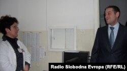 Министерот за здрсвтсво Никола Тодоров во посета на битолската болница.