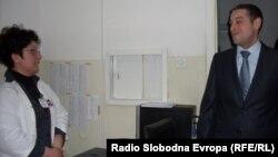 Министерот за здрсвство Никола Тодоров во посета на битолската болница.
