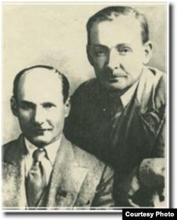 Янка Купала і Якуб Колас. 1930-ыя гг.