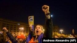 Protest la Bucureşti, 5 noiembrie