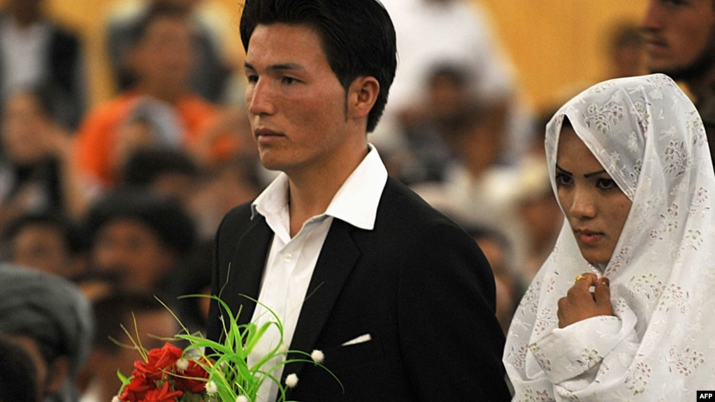 The families of many Afghan brides demand that the groom spend thousands of dollars in ""