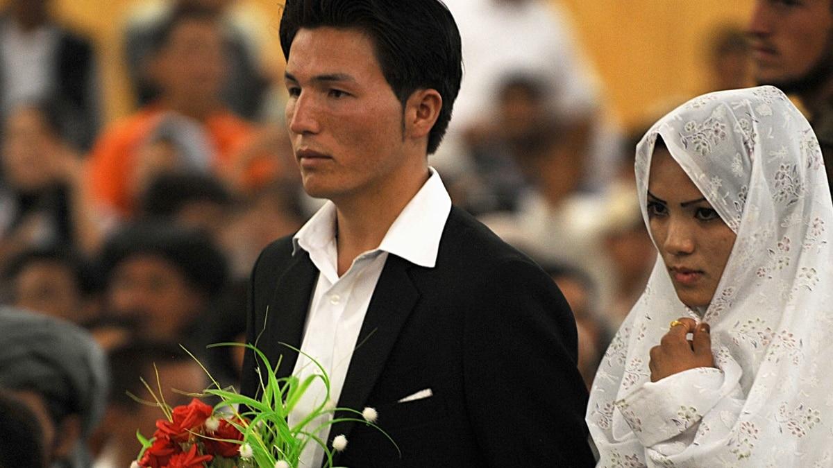 Afghanistan marriage customs in My arranged
