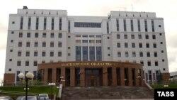 Zgrada suda u Moskvi u kojoj se desila pucnjava