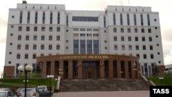 Pamje të Gjykatës rajonale në Moskë