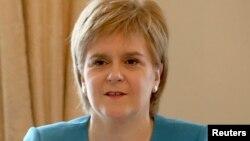 Первый министр Шотландии Никола Старджен.
