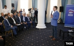 Робоча поїздка прем'єр-міністра РФ Дмитра Медведєва до анексованого Криму