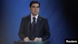 قربان قلی بردی محمدوف رئیس جمهور ترکمنستان