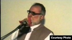 Awami National Party leader, Arbab Abdul Zahir Kasi (file photo)