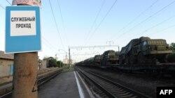 Военный поезд, иллюстративное фото