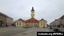 Будынак ратушы ў Беластоку