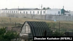 Part of a prison annex in Granitny, in Kazakhstan's Akmola region (file photo)