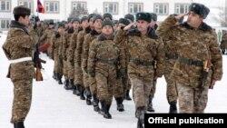В одной из воинских частей ВС Армении (архив)