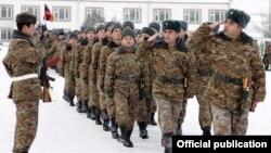 Հայաստանի Զինված ուժերի ստորաբաժանումներից մեկը, արխիվ
