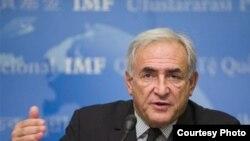 Управляющий директор Международного валютного фонда МВФ Доминик Строс-Кан