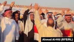 مؤيدون لفكرة إنشاء إقليم الأنبار في تظاهرة