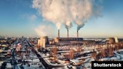 Теплова електростанція у Києві. ©Shutterstock