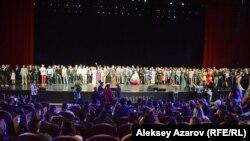 Предпоказ фильма «Томирис» во Дворце Республики в Алматы. 26 сентября 2019 года.