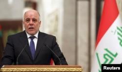 Iraqi Prime Minister Haidar al-Abadi