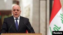 حیدرالعبادی، نخست وزیر عراق از حامیان گروه «حکومت اسلامی» خواسته است که تسلیم شوند.
