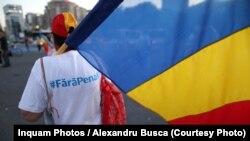 """""""Fără Penali"""" a fost una din solicitările de la protestele din Piața Victoriei"""