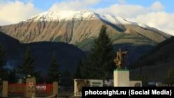 Поселок Акташ в республике Алтай