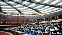 Ադրբեջանի խորհրդարանի նիստը, արխիվային լուսանկար