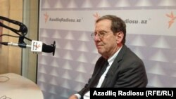 Azerbaijan -- U.S. Ambassador to Azerbaijan Richard Morningstar in RFERL`s Baku Bureau
