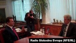 Премиерот Никола Груевски и лидерот на ДУИ Али Ахмети.