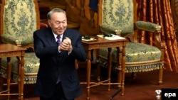 Архивска фотографија- Претседателот на Казахстан Нурсултан Назарбаев