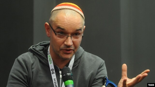 Anton Nosik speaks at the second TechCrunch Moscow 2011 IT international conference last year