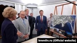 Президент Росії Володимир Путін у Севастополі, 4 серпня 2018 года