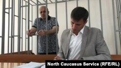 Оюб Титиев и его адвокат Петр Заикин