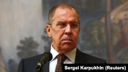 "Russian Foreign Minister Sergei Lavrov: ""Russia is not guilty."""