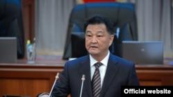 Министр здравоохранения Кыргызстана Талантбек Батыралиев.