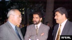 İsa Qəmbər, Rauf Arifoğlu və Sülhəddin Əkbər, 4 iyul 2002