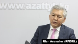 Иса Омуркулов, лидер фракции СДПК в парламенте Кыргызстана.