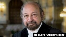 Halkara Adalat sudunyň (ICJ) prezidenti Ronny Abraham