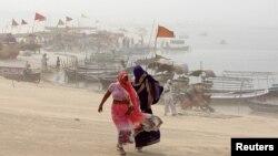 Шторм наближається до узбережжя Індії