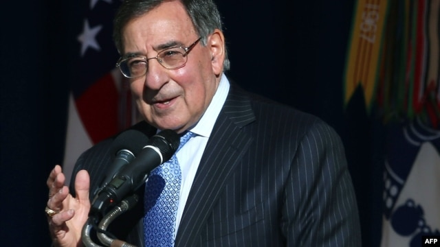 Outgoing U.S. Secretary of Defense Leon Panetta